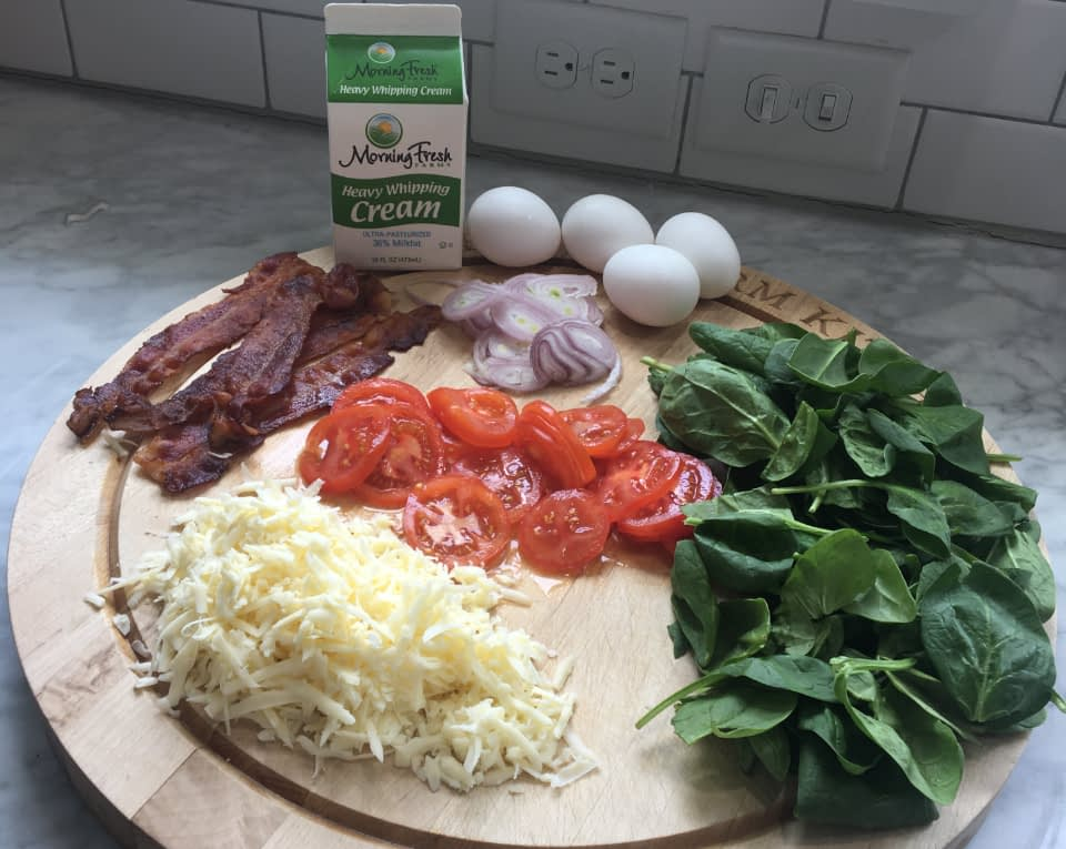 quiche ingredients