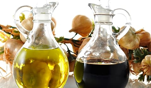 oil and balsamic vinegar dressing