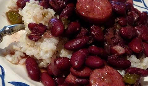 reb beans and rice